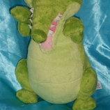 шикарная мягкая игрушка Крокодил Тик-Так Дисней Disney Италия оригинал
