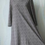 Трендовое платье в леопардовый принт от Mango