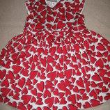 Отличное платье Маталан 2-3г