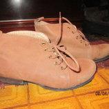 Ботинки кожа р 36