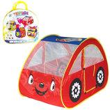 Палатка детская Красная машина M 2502