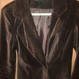 пиджак женский велюровый размер 42