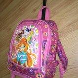 Фирменный дорожний рюкзак школьный на колесах до 7лет