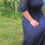 Платье в пол 46 р. очень красивое
