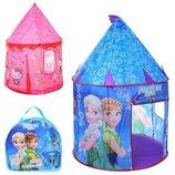 Детская палатка домик Фроузен и Хеллоу Китти M 3529