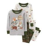 Набор из 2х хлопковых пижам для мальчика Carters отдых в горах