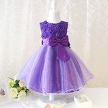 Пышное нарядное платье р. 100-120