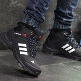Зимние мужские кроссовки Adidas Climaproof dark blue