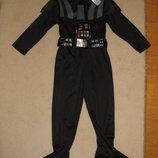 Новогодний карнавальный костюм звездные воины Дарт Вейдер star wars Darth Vader 5-6л