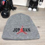 Шапка Jordan Winter Hat Tuft Logo Gray