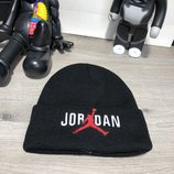Шапка Jordan Winter Hat Tuft Logo Black