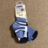 Носочки новорожденным от Ladybird из Англии