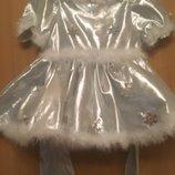 карнавальный костюм карнавальное платье снежинка льдинка