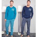 Пижама байковая мужская s-xl