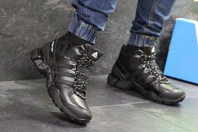 Зимние мужские кроссовки Adidas Terrex 465 black 6961