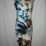Новое элегантное платье с принтом next
