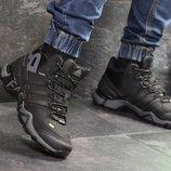 Зимние мужские кроссовки Adidas Terrex 465 black 6959