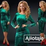 Элегантное эффектное женское платье 24270 цвета