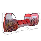 Детская палатка с тоннелем Марвел M 3791