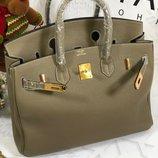 Женская кожаная сумка Hermes Birkin