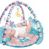 Коврик для младенца с музыкальной панелью Педальное фортепиано HX11200-A