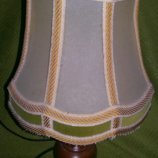 Винтажная лампа,ночник абажур.Италия