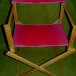 Деревянный,раскладной стул для куклы.Германия