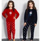Велюровый костюм для девочек 5-14 лет