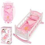 Кроватка для кукол DeCuevas 54523