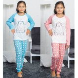 Пижама для девочек 5-14 лет