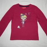 Цвета фуксии трикотажная футболка Zab Kids на девочку 8 лет. Рост 128 см.