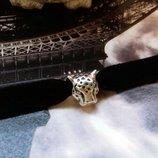Бархатный черный чокер с гепардом в 2 цветах