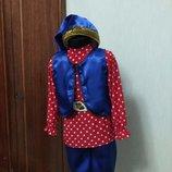 прокат продажа карнавальный костюм гнома