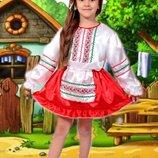 Карнавальный костюм Украинка для девочки