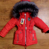 Зимняя куртка-пальто пуховик