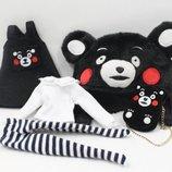 Набор одежды в стиле Кумамон для куклы Блайз, Пуллип, Айси. Одежда Kumamon для Pullip, ICY и Blythe