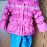 Зимний костюм Kiko р.92 пуховик
