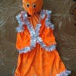 Лисичка. Новорічний костюм
