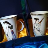 набор чашек, чашка фарфор, подарочный набор чашки, чашки порцеляна