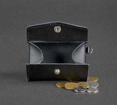 1d025924db4b Монетница кожаная на кнопке черная BN-CW-1-g: 340 грн - кошельки в Одессе,  объявление №19771980 Клубок (ранее Клумба)