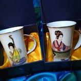 набор чашек, чашка фарфор, подарочный набор чашки, фарфор Китай, порцеляна