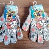 Серенькие рукавички Щенячий патруль для мальчиков Дисней