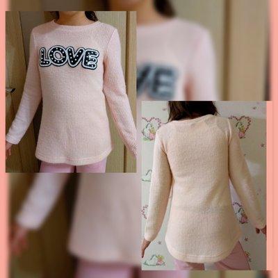 Туника LOVE для девочек.Р.128-158