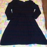 Удобное платье туника Трикотаж Можно для беременных Платье выглядит очень интересно черно-красные