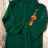 6 цветов Водолазки женские гольфы кашемировые теплый свитер под горло милано 6цветов