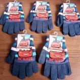 Темно синие рукавички Тачки Маквин Дисней