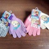 Комплекты 2пары рукавички Анна Эдьза Дисней