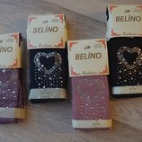 Детские демисезонные колготы колготки на девочку со стразами фирмы Belino