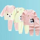 Детская пижама gg baby, плотный и мягкий хлопок, на 3-5 года, новая