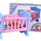 Кроватка для куклы Технок , арт. 4166